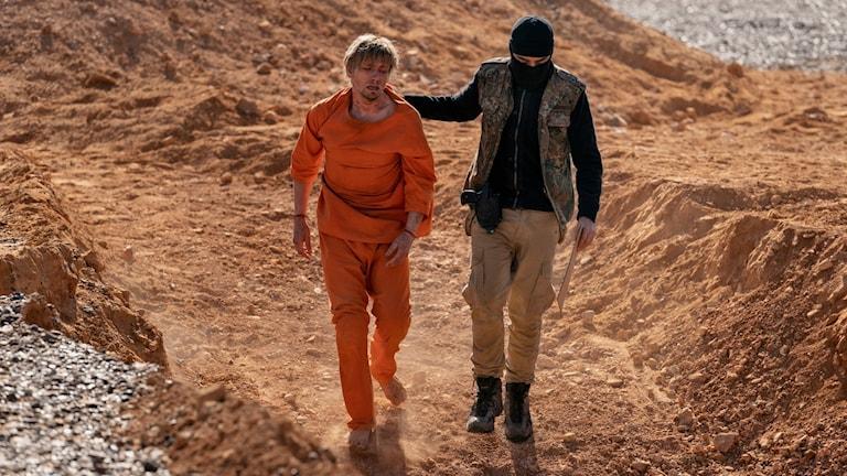 """Fångad av IS i filmen""""Ser du månen, Daniel"""""""