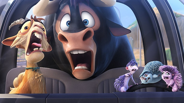 Ur filmen Tjuren Ferdinand. Foto: Fox Movies.