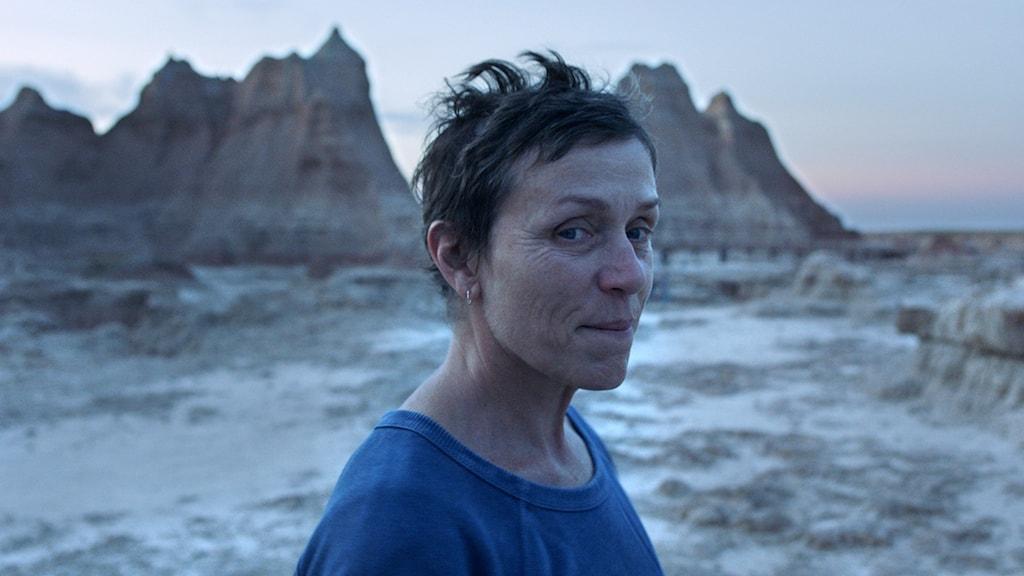 """Frances McDormand i """"Nomadland""""."""
