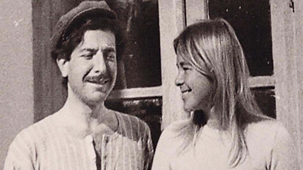 Leonard Cohen och Marianne Ihlen.