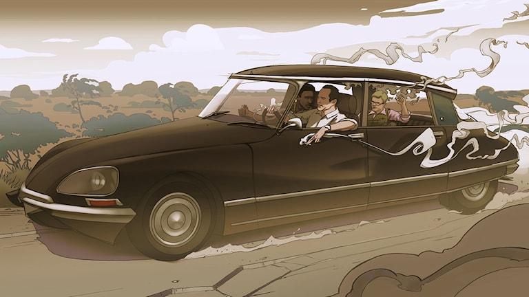 Filmen En dag till att leva handlar om Ryszard Kapuscinski. Foto: Edge Entertainment.