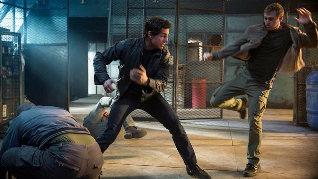 Tom Cruise fortsätter slåss som Jack Reacher. Foto: UIP.