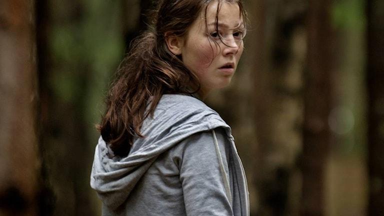 Andrea Berntzen i filmen Utöya. Foto: Nordisk Film.