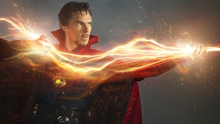 Benedict Cumberbatch som Doctor Strange. Foto: Disney.
