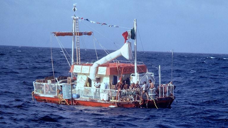 Flotten på öppet hav. Foto: Folkets Bio.