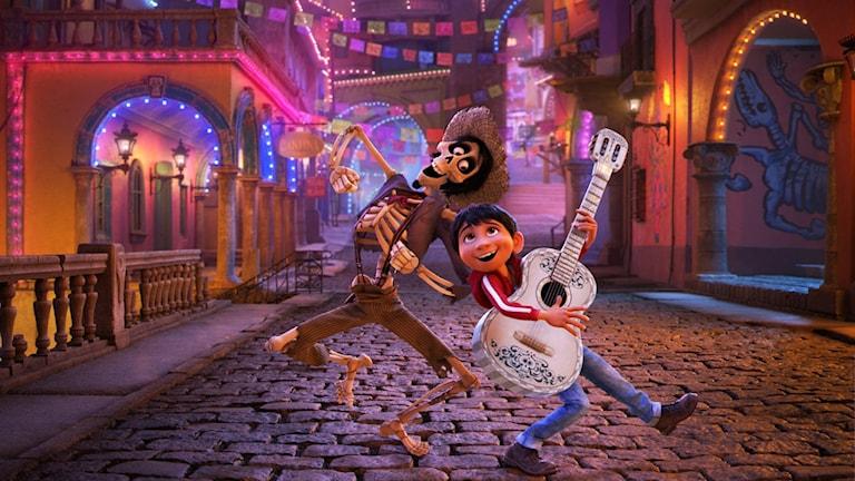 Från filmen Coco. Foto: Disney.
