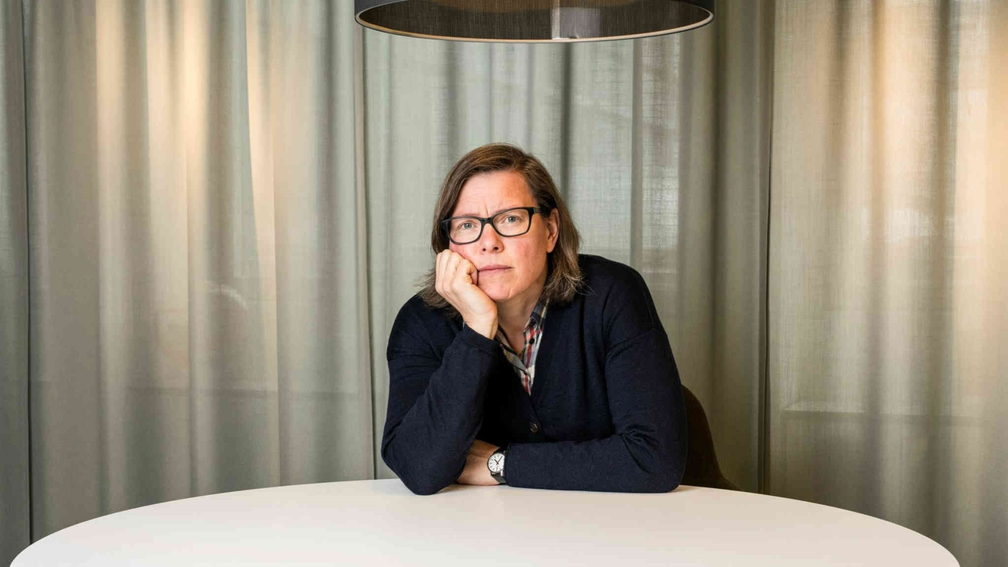 Författaren Lena Andersson Foto Mattias Ahlm SR
