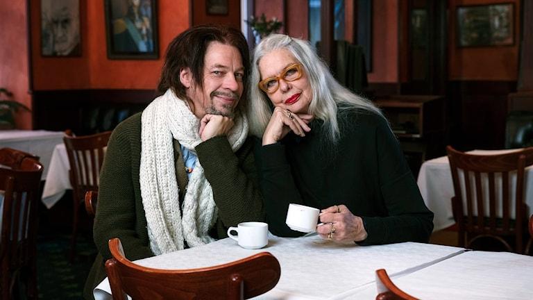Bob Hansson och Marianne Lindberg de Geer.