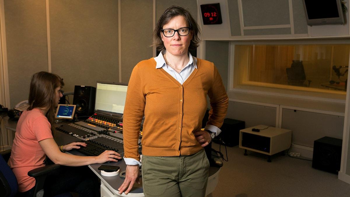 Lena Andersson. Foto: Mattias Ahlm/Sveriges Radio.