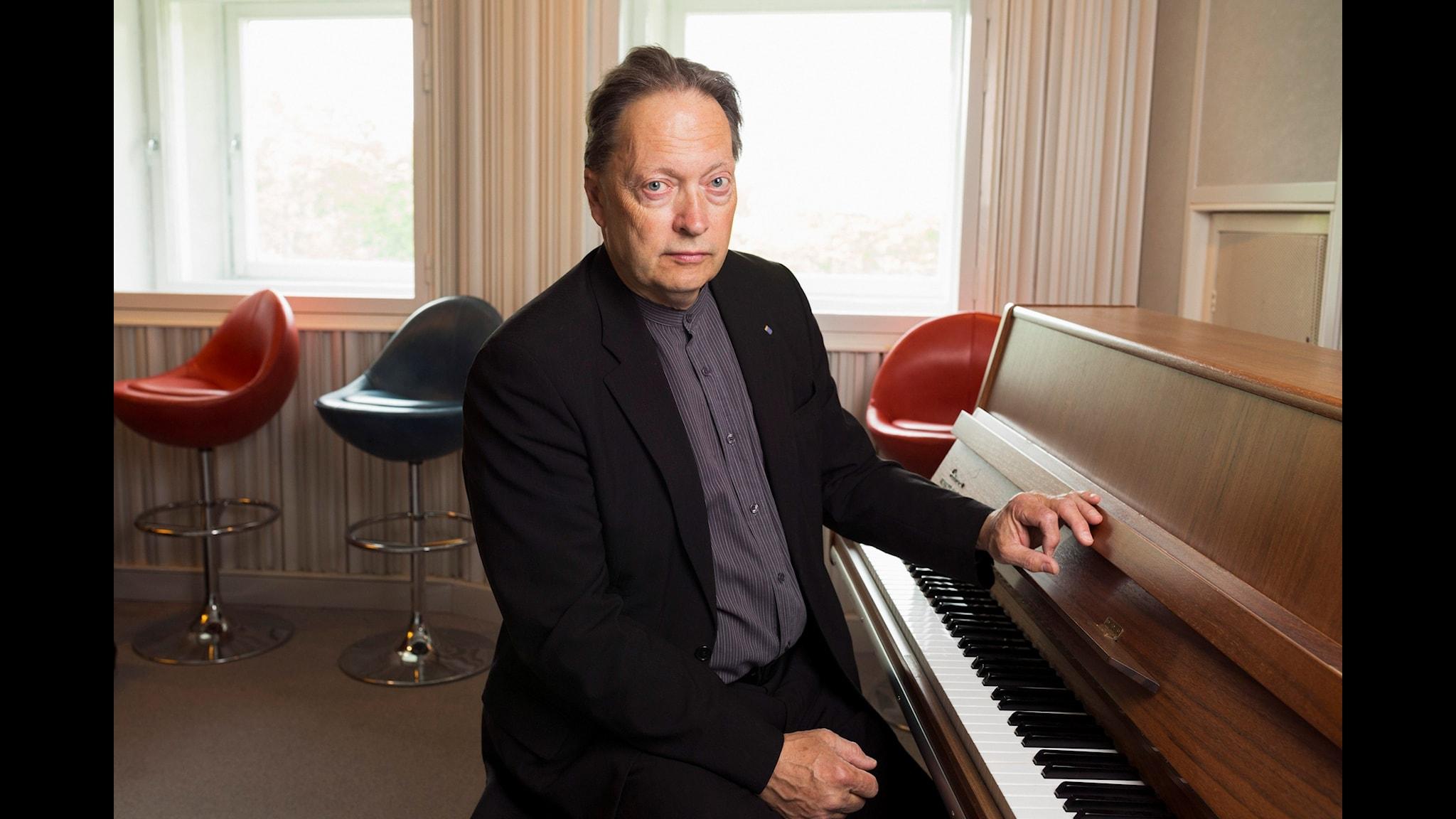 Horace Engdahl Foto: Mattias Ahlm Sveriges Radio