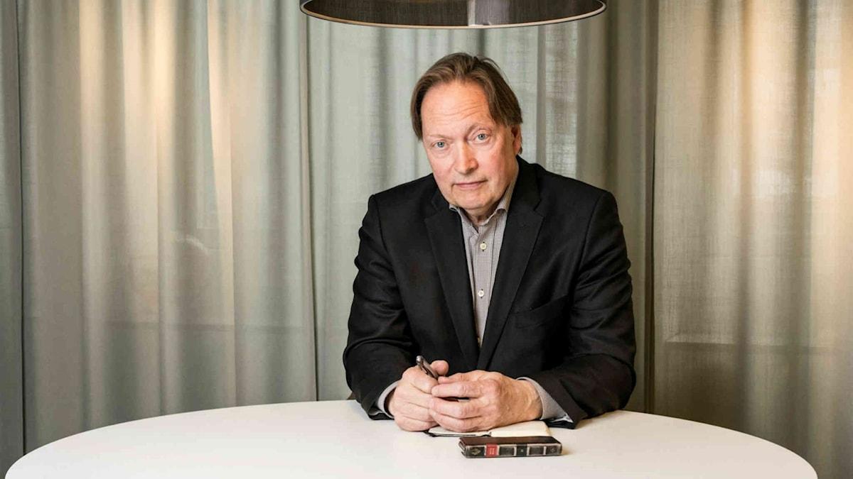 Horace Engdahl författare Foto: Mattias Ahlm /Sveriges Radio