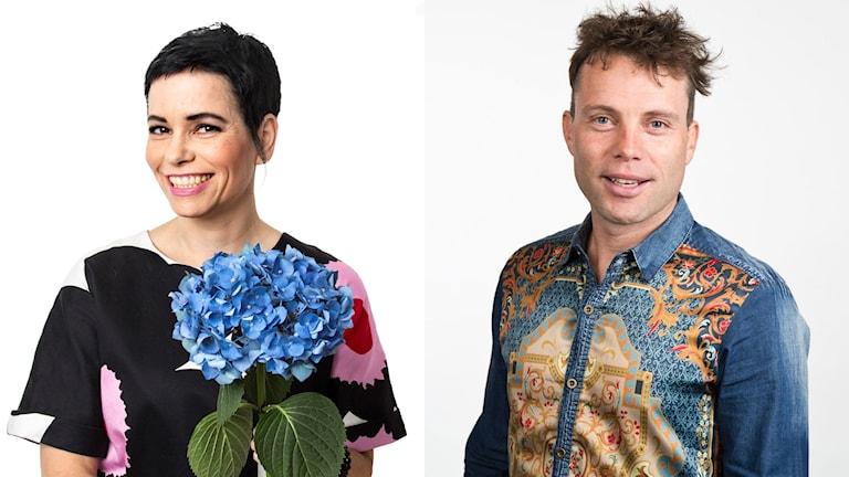 Carolina Norén och Henrik Olsson leder Svensktoppen nästa. Foto: Mattias Ahlm/Sveriges Radio