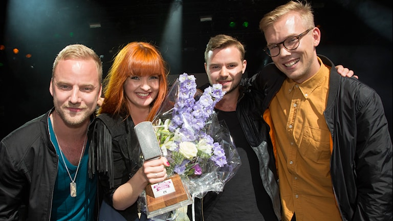 EKO, vinnare i Svensktoppen nästa 2013 Foto: Martina Holmberg /Sveriges Radio