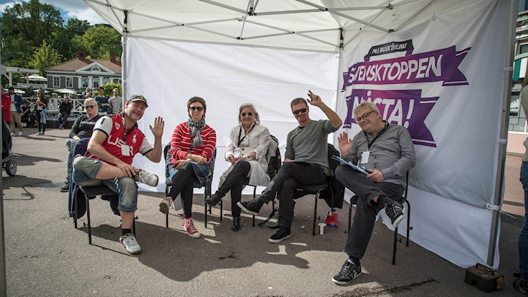 Förra årets riksfinaljury bestod av Michael Cederberg, Rita Jernquist, Kerstin Behrendtz, Christer Björkman och Maths Broborg (juryns ordförande).
