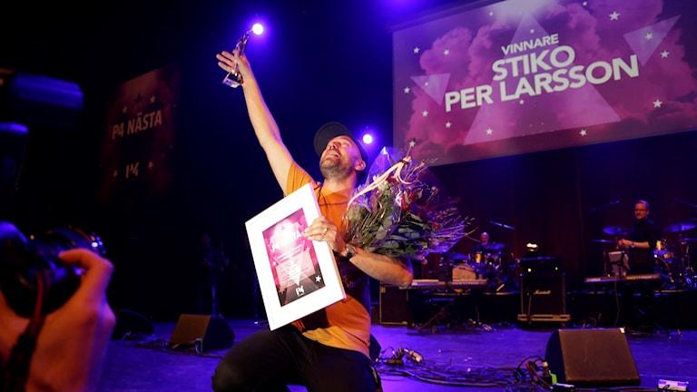 Stiko Per Larsson vinnare av P4 Nästa
