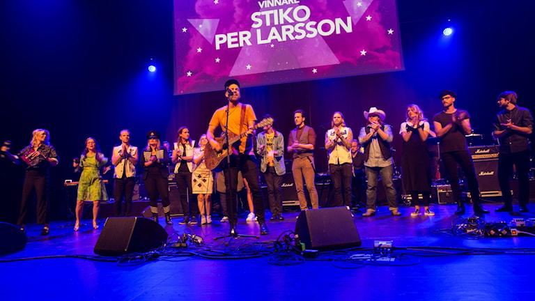 Vinnaren P4 Nästa 2017, Stiko Per Larsson.