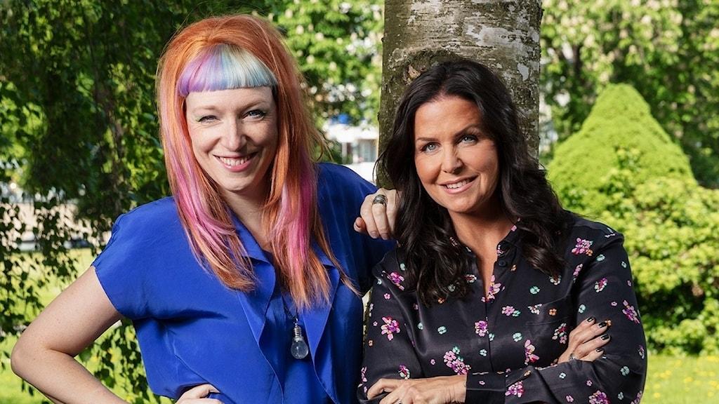 Josefin Johansson och Titti Schultz programledare finalen P4 Nästa 2018