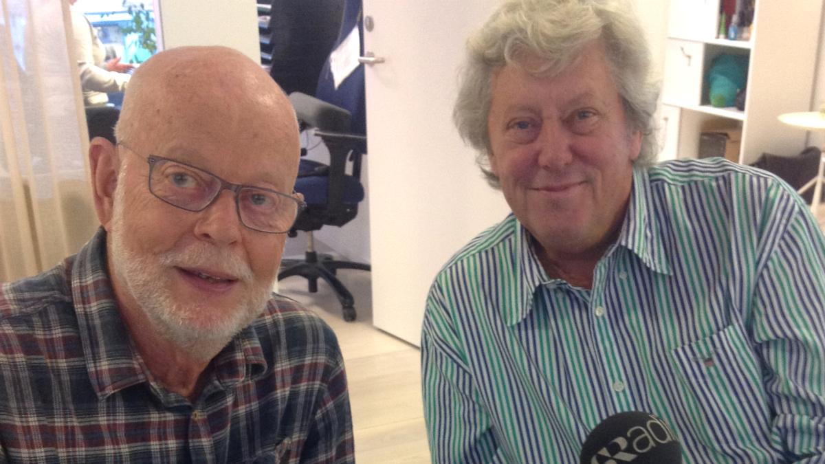 KG Hammar och Ulf Elfving.