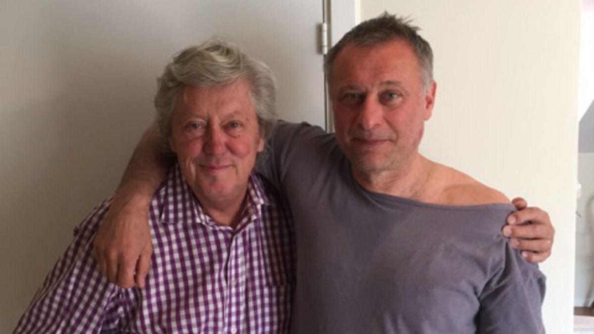 Ulf och Michael i ett kök på söder