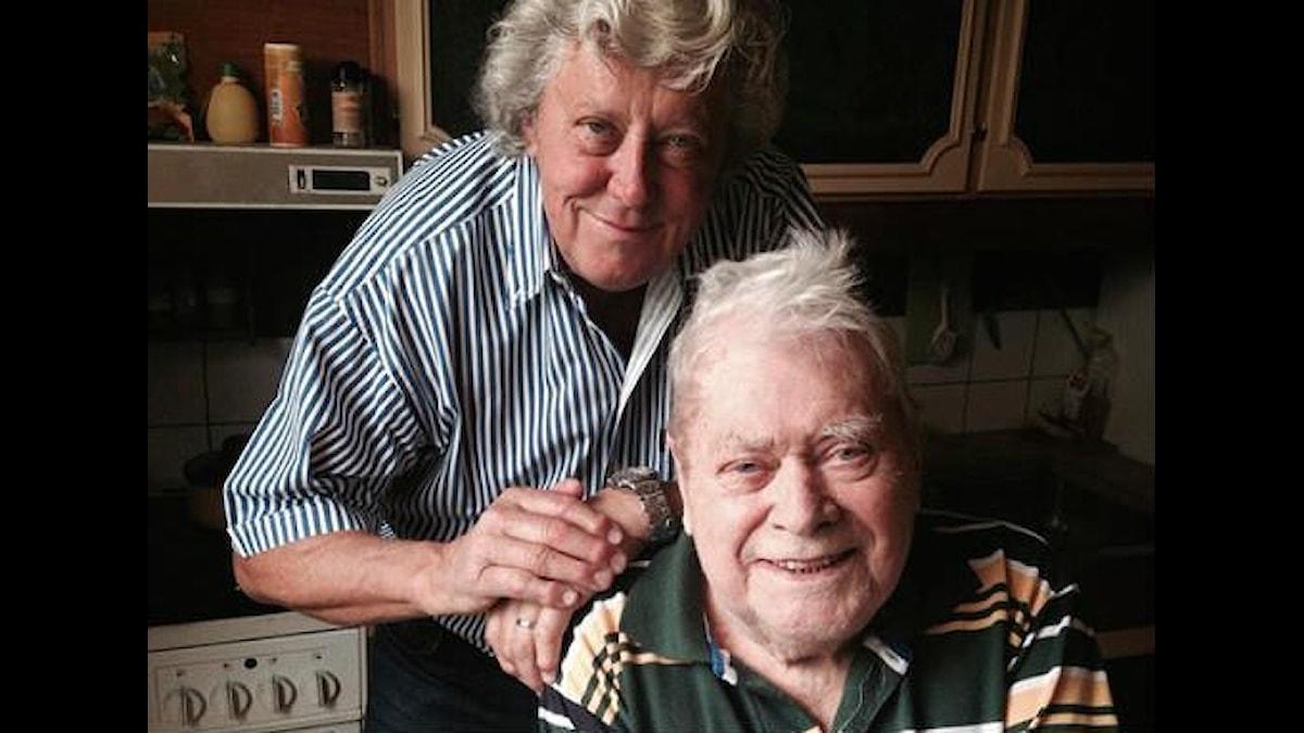 Ulf Elfving och Lasse Lönndahl