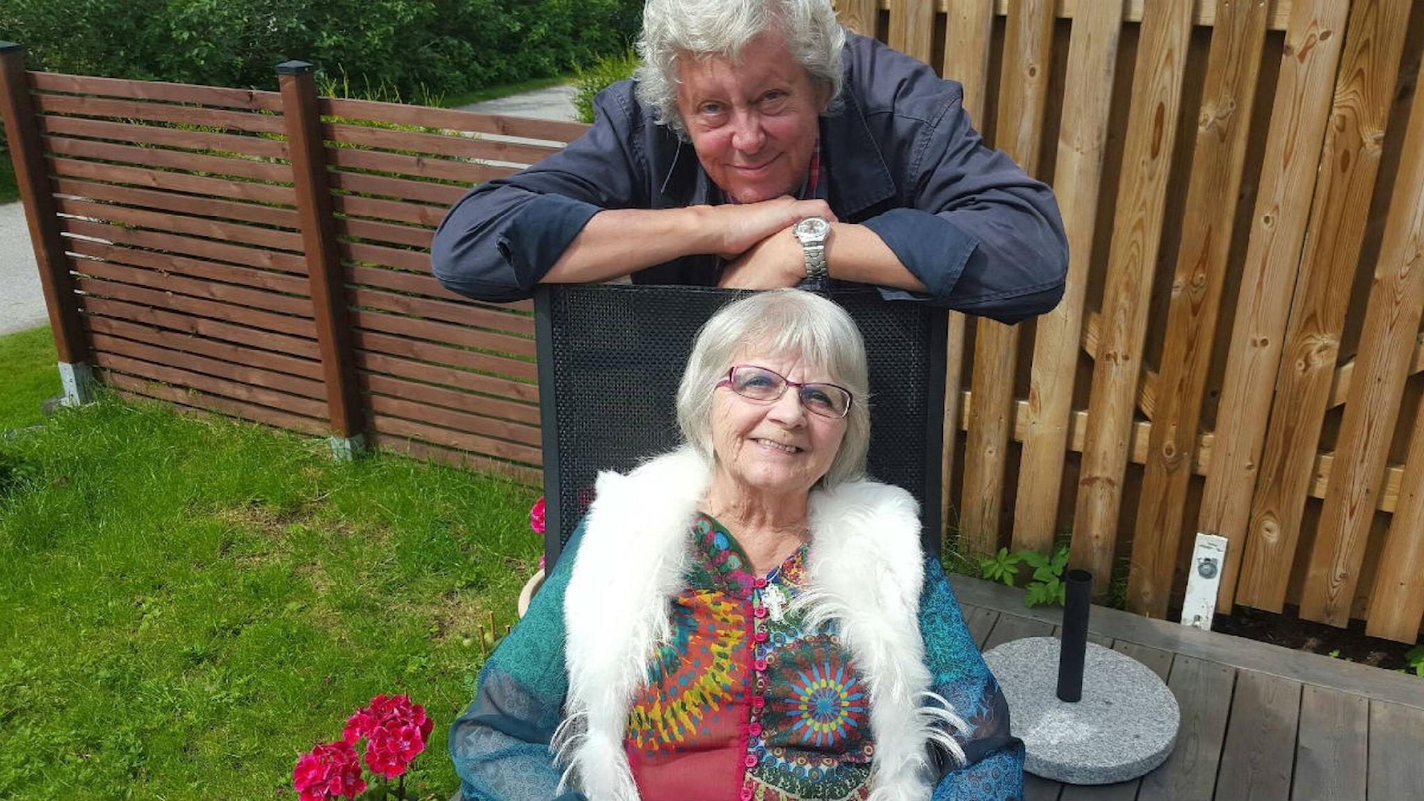 Elise Lindqvist och Ulf Elfving
