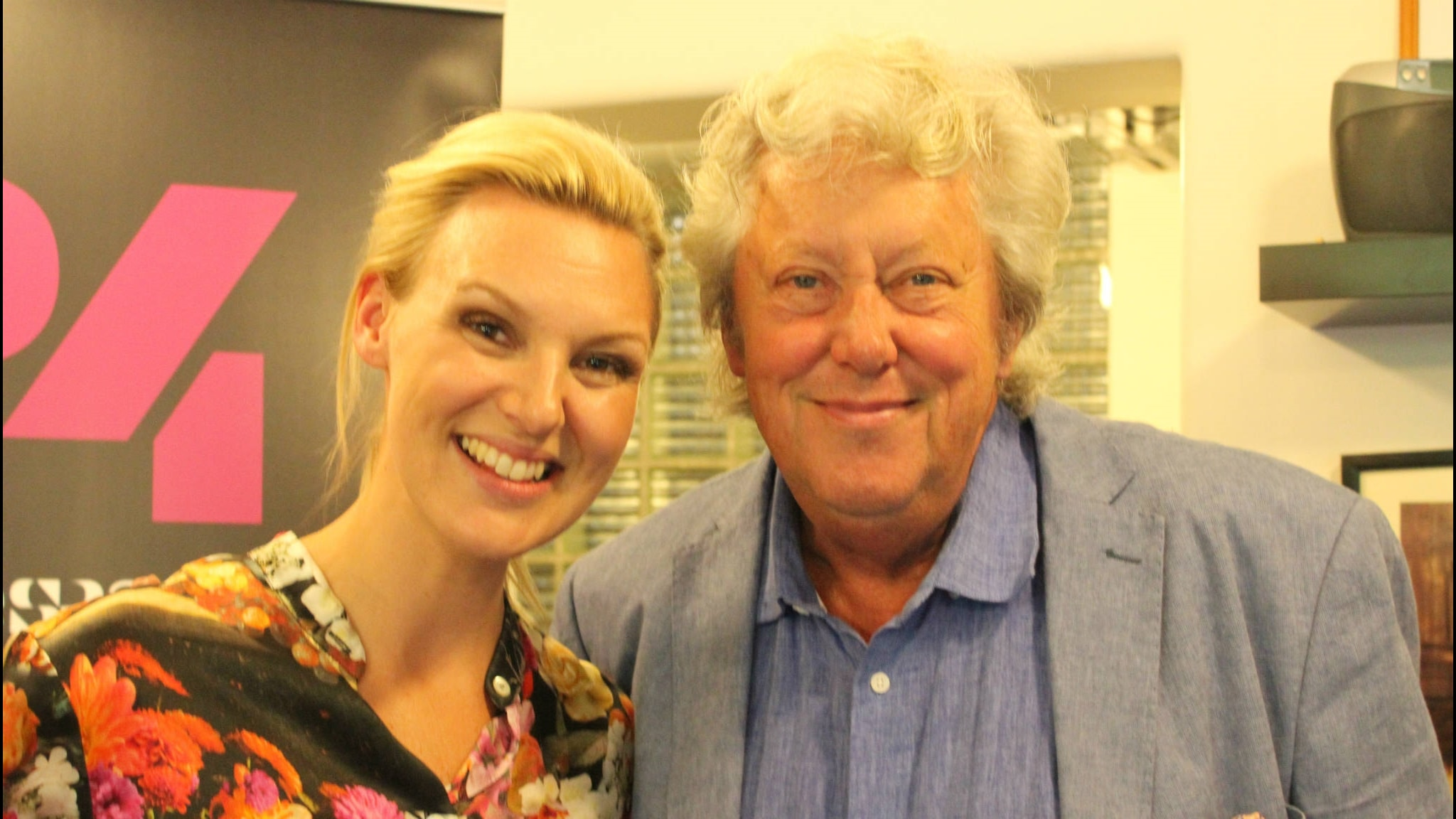 Sanna Nielsen och Ulf Elfving
