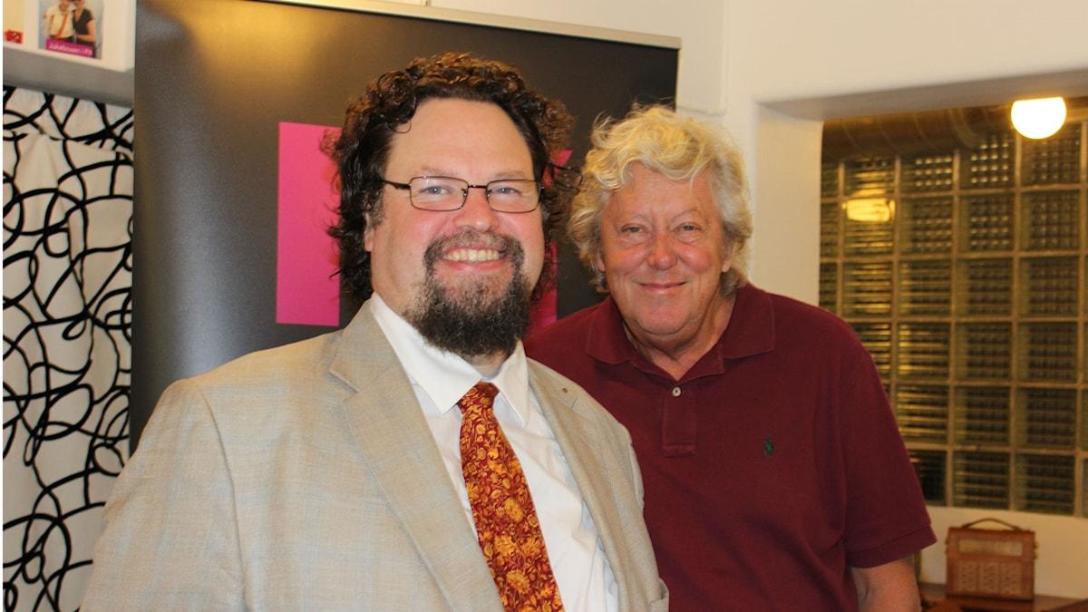 Edward Blom möter Ulf Elfving