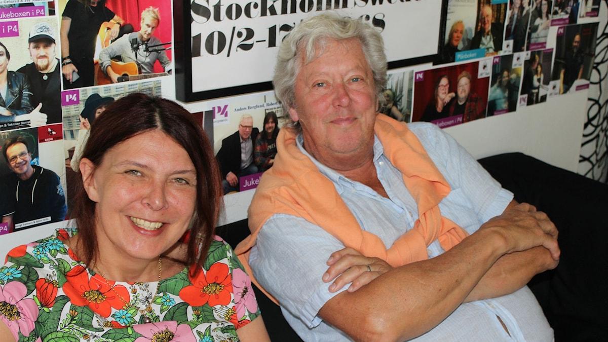 Johanne Hildebrand och Ulf Elfving