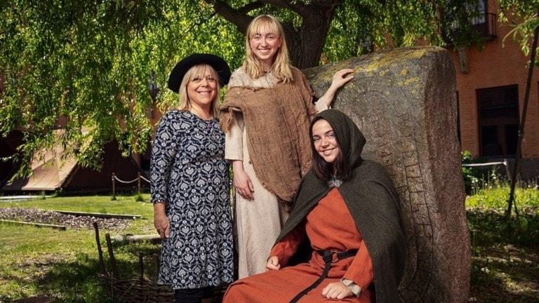 Ella Lemhagen, Greta Hedin och Louise Radon