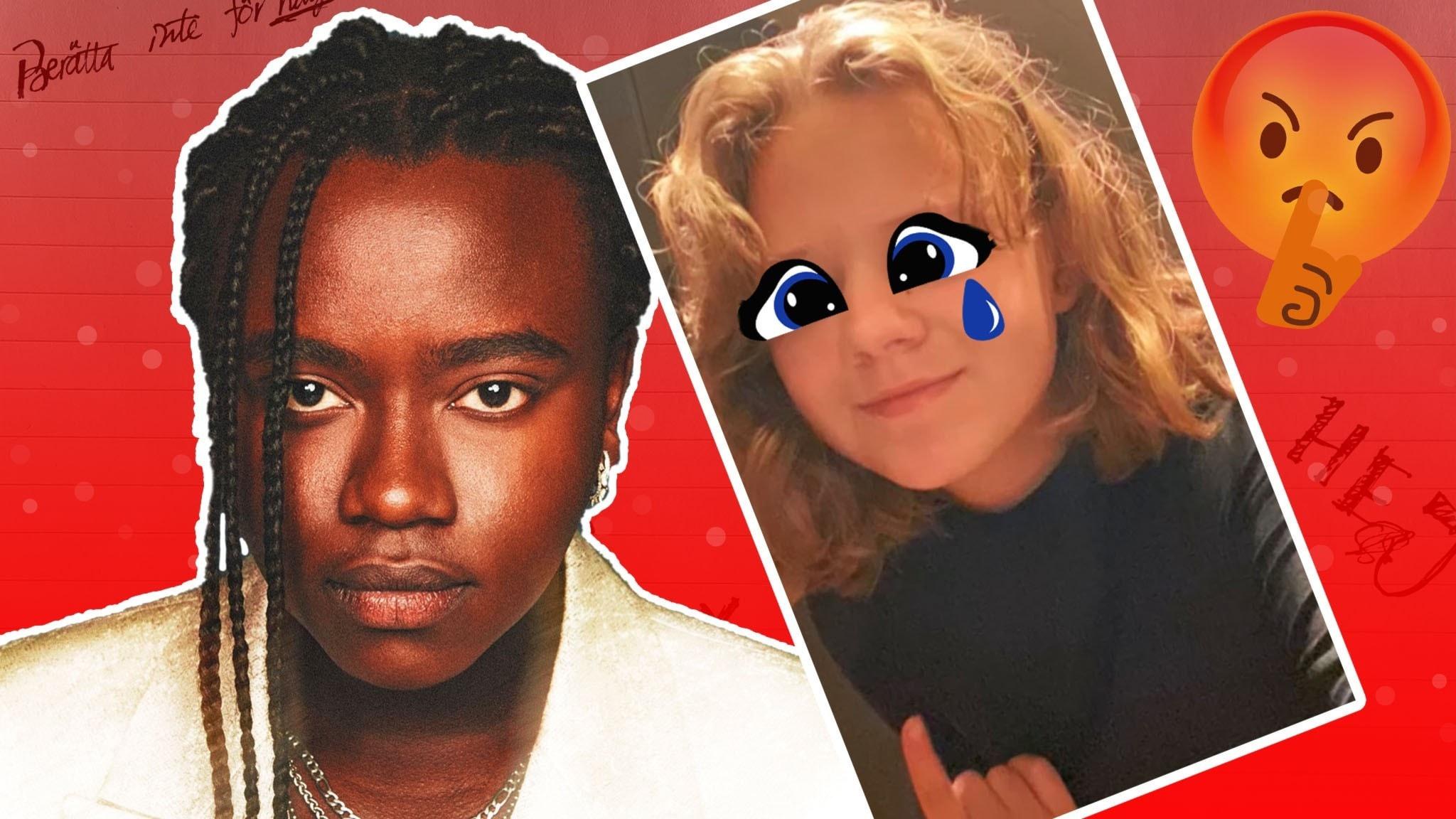 """Tusse Chiza är programledare för Tjuvlyssnat. I avsnitt 5 handlar det om Jana. Hennes kompis bestämmer allt men kompisen går för långt och Jana ljuger för henne. En lögn som kommer bli katastrof. Samuel har alltid varit en glad person. En lapp ändrar allt. Det står: """"Du är ful""""."""