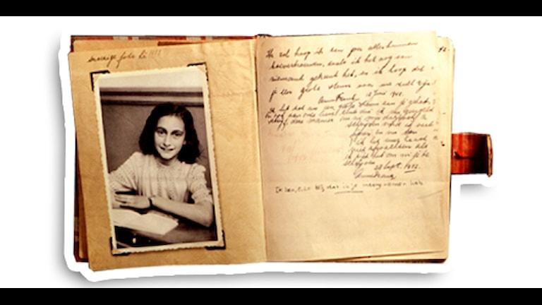Anne Franks dagbok, foto Scanpix