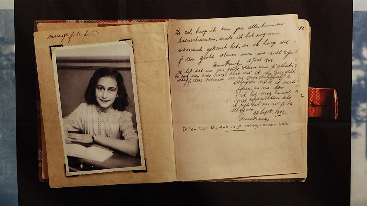 Anne Franks dagbok - avsnittsbild