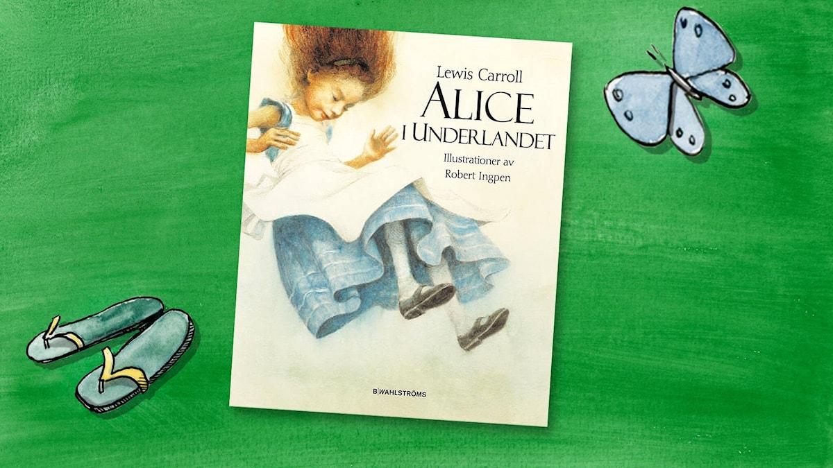 Omslagsbild av Alice i underlandet.