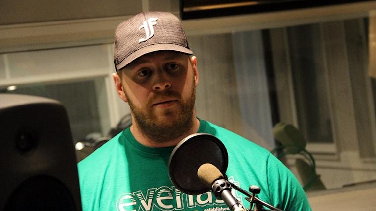Martin Forsmark, Sveriges näst starkaste man. Foto: Martin Svensson / Sveriges Radio