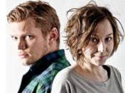 Henrik Torehammar och Emmy Rasper - programledare för Brunchrapporten.