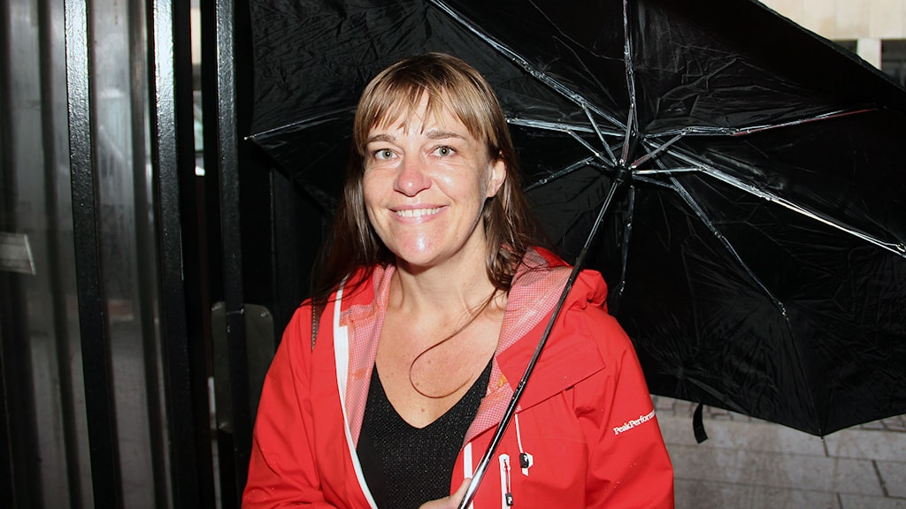 Kerstin Bergman. Foto: Jonathan Hansen/Sveriges Radio