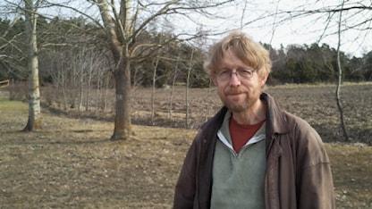 Cliff Robinson utlöste larmet i Forsmark som avslöjade Tjernobylolyckan. Foto: Christer Engqvist/SR