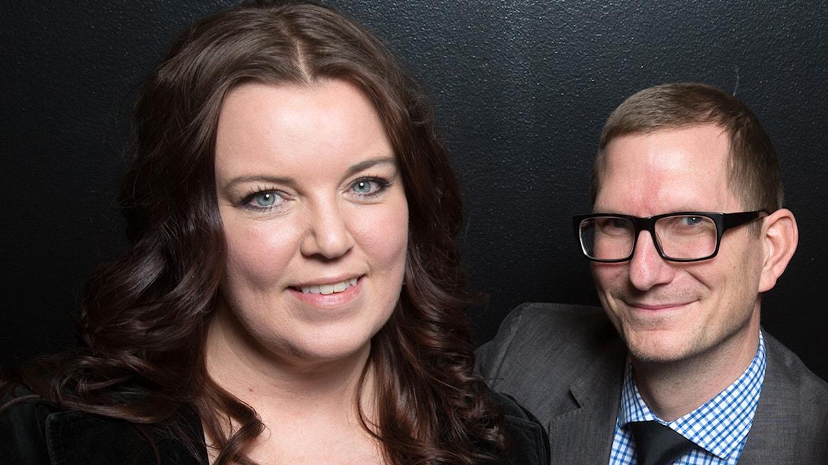 Mona Wahlund och Christer Engqvist. Foto: Martina Holmberg/Sveriges Radio