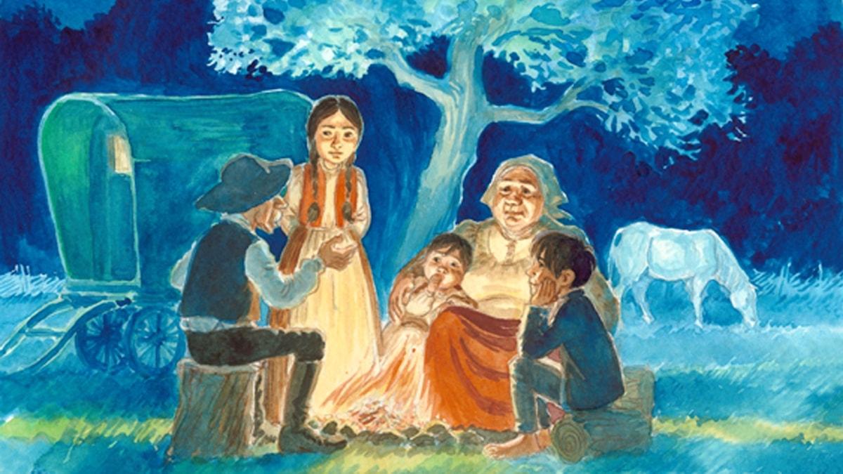 Programbild för Magiska skrinet: E sumnakane romane (Romani barn)