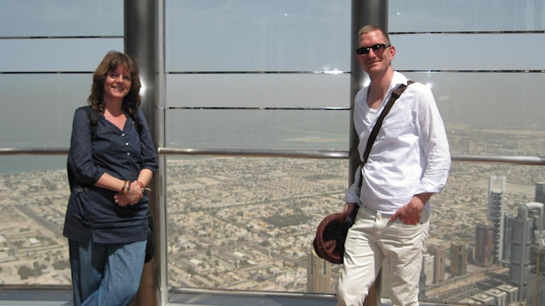 Top of the world, Burj Khalifa, Dubai.