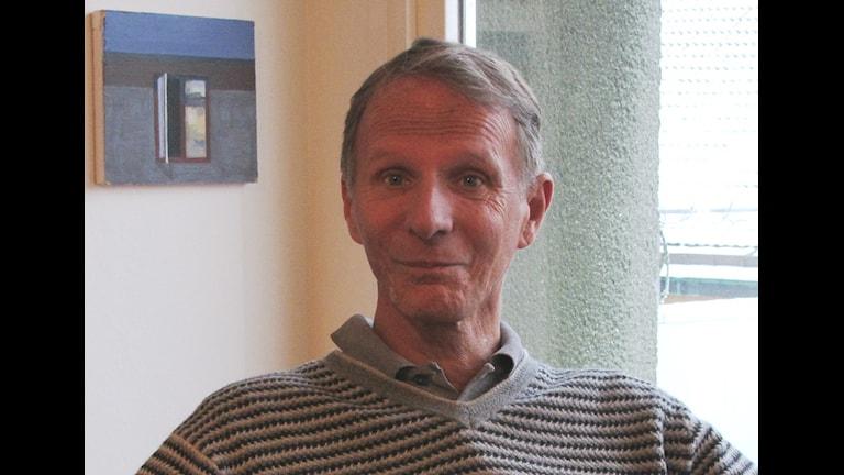 Steve Sjöqvist smittades 1987. Nu oroas han av att det är så tyst om HIV i Sverige. Foto: Per Helgesson/Sveriges Radio