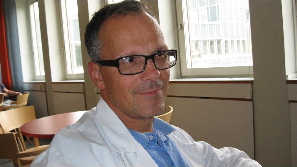 Predrag Petrovic, hjärnforskare vid Karolinska Institutet. Foto: Sveriges Radio