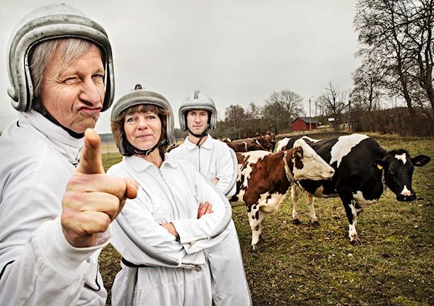 Stefan Sundström, Lena Nordlund och Björn Gunér. Foto: Martina Holmberg/Sveriges Radio