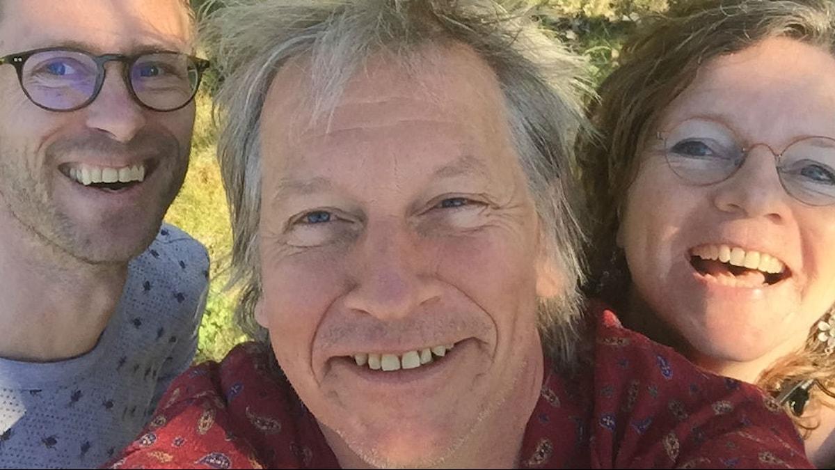 Björn Gunér, Stefan Sundström och Lena Nordlund.