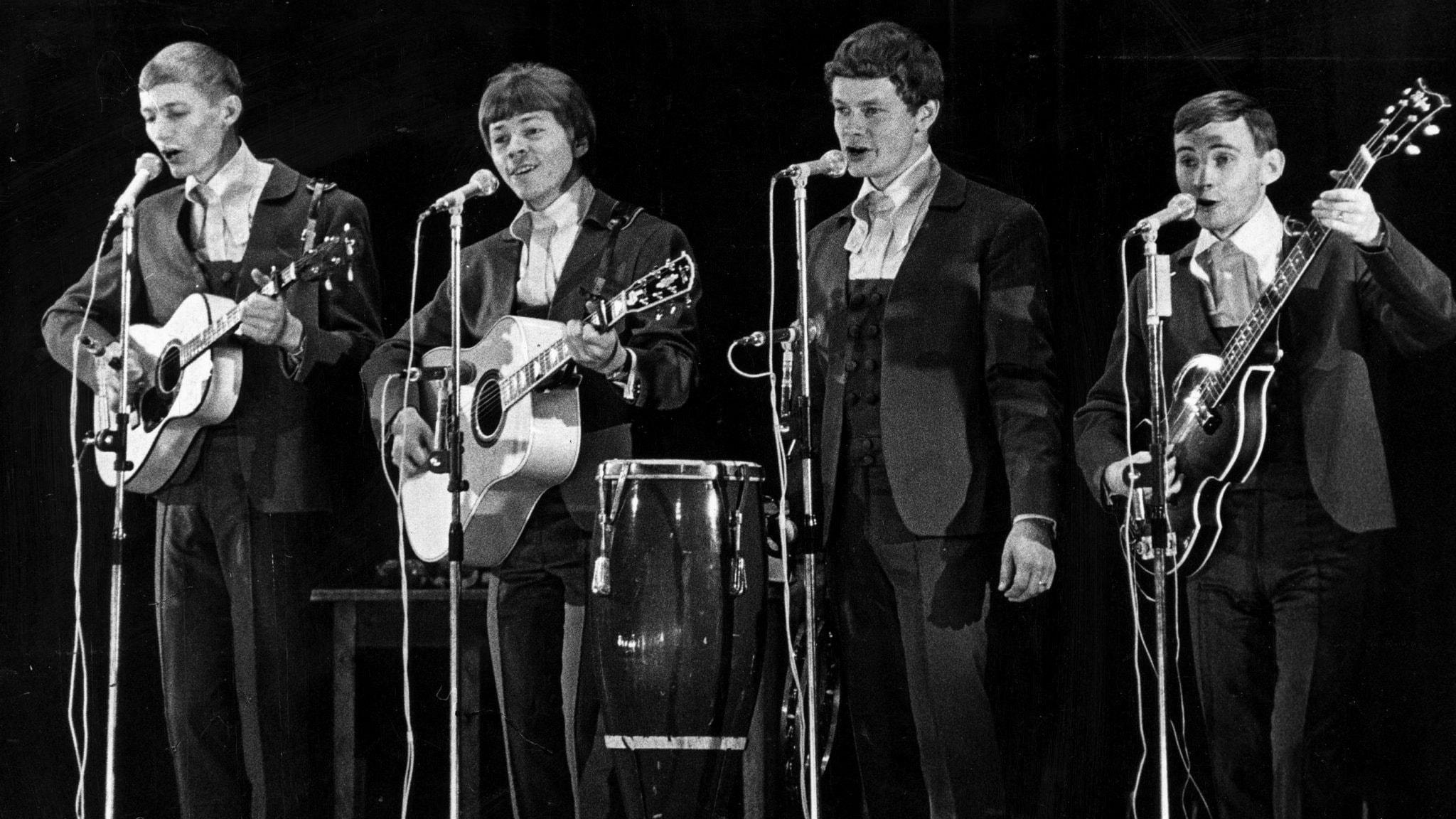 Låten som gav Hootenanny Singers Svensktoppens långliggarrekord i hela två decennier