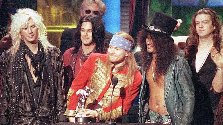 Guns N Roses. Foto: Kevork Djansezian Scanpix