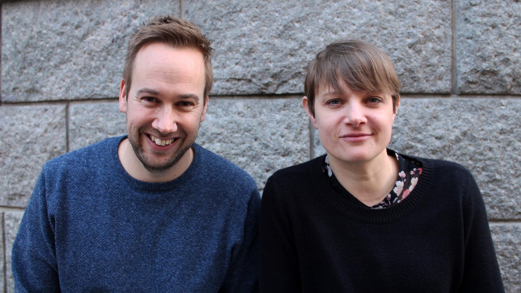 Med Mattias Persson och Perra Johansson