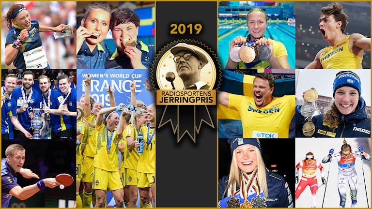 Radiosportens pris till årets bästa idrottsprestation som röstas fram av svenska folket.