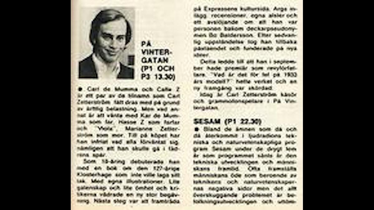 På Vintergatan med Carl Zetterström