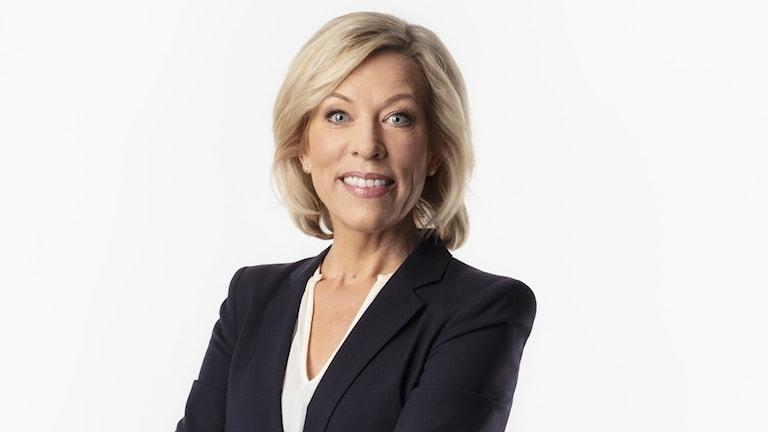 Ginna Lindberg, Ekots utrikeschef.